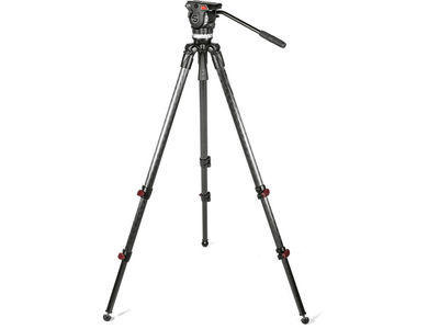 Sachtler System Ace Fluid Head and CF Tripod