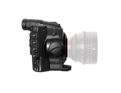 Canon C300 with PL Mount