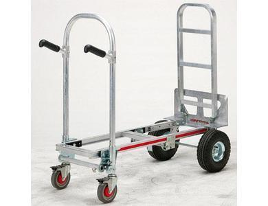 "Magliner Junior Convertable Cart with 30"" Nose"