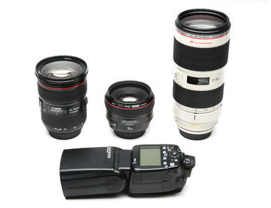 Canon Pro Wedding Lens Package