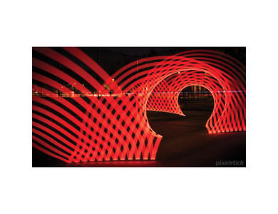 Pixelstick LED Lightpainting Tool