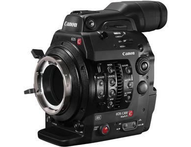 Canon C300 Mark II with PL Mount