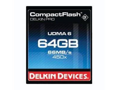 Delkin 64GB 450x CompactFlash