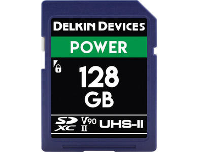 Delkin Devices 128gb UHS-II 2000X SD Card