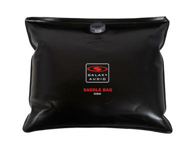 """Empty"" Galaxy Audio Saddle Bag Sand/Water Bag"