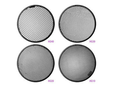 Grid Set for Paul C. Buff 7-inch Reflector