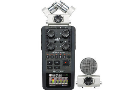 Zoom H6 Audio Recorder Kit