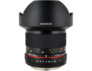Rokinon 14mm f/2.8 ED Lens for Sony E Mount