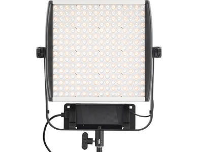 Litepanels Astra 1x1 Bi-Color LED Panel w/ V-Mount Plate